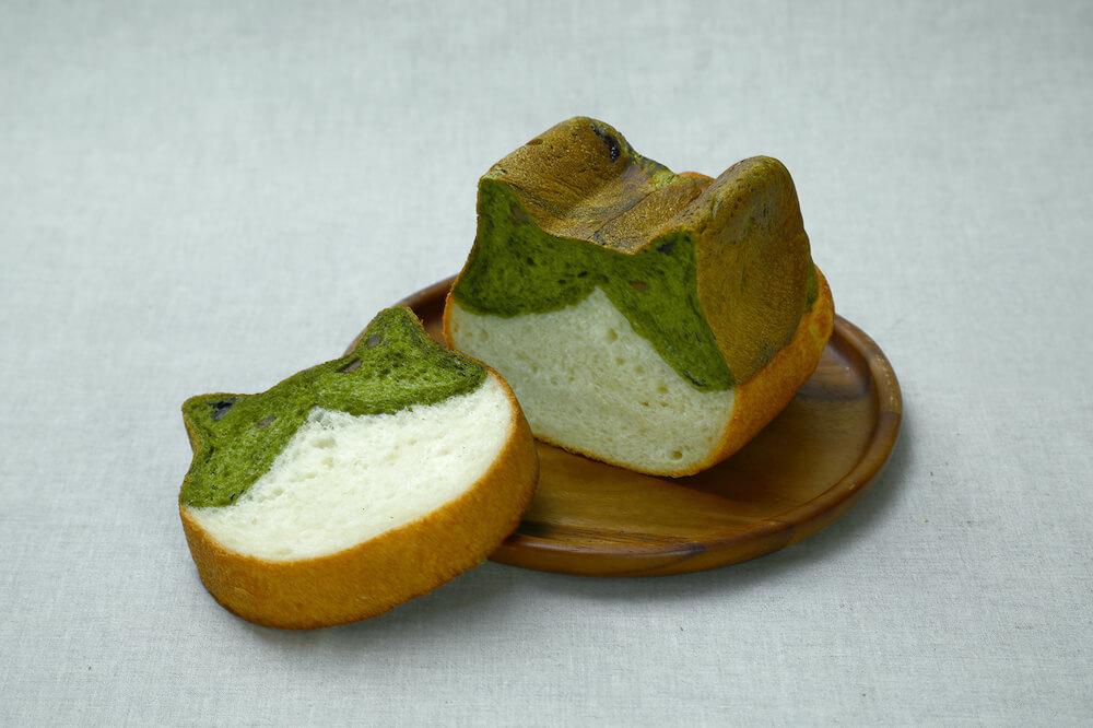 京都ねこねこ食パン「抹茶味」の商品イメージ by 京都ねこねこ