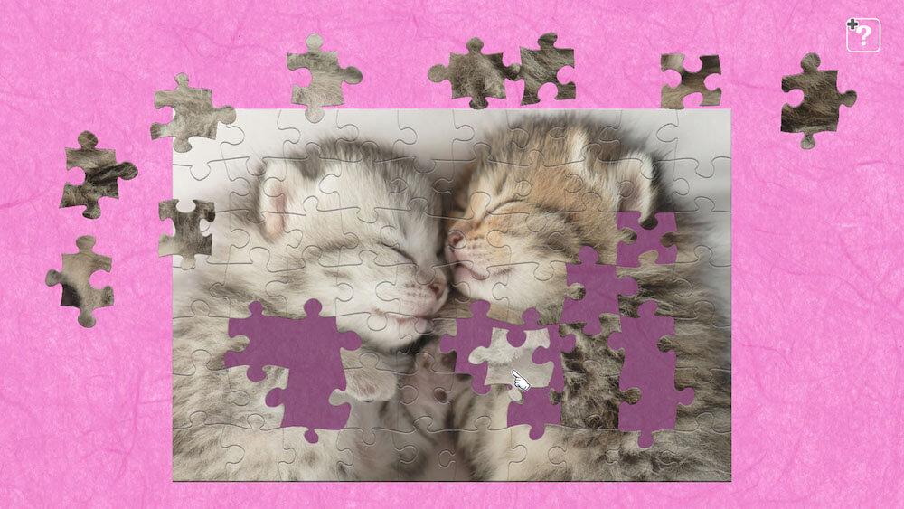 ジグソーマスターピースの追加コンテンツ「かわいい猫」