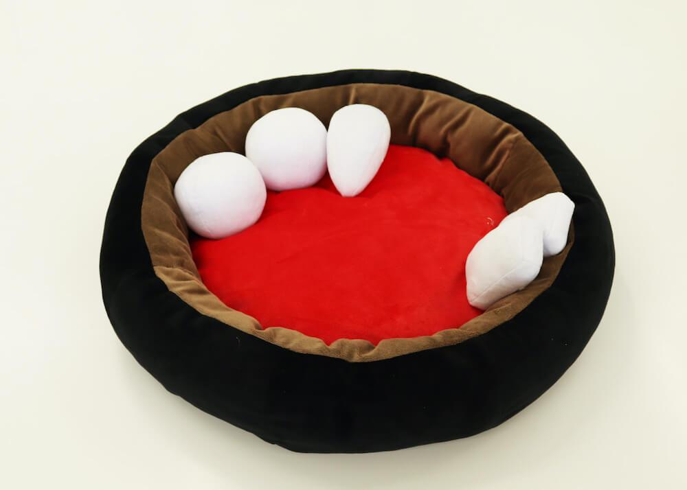 あんみつをモチーフにした猫用ベッドの開発バージョン1