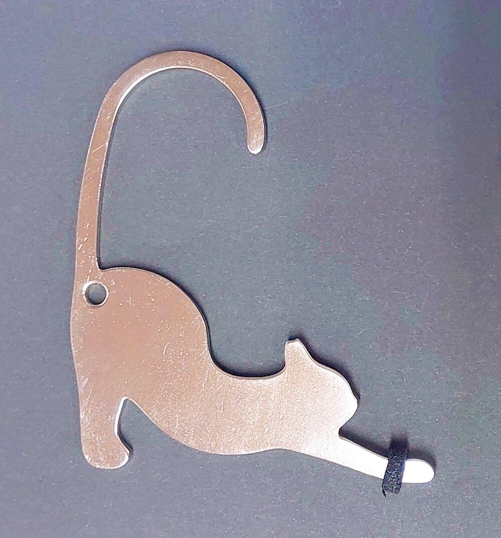ネコ型の非接触グッズ「HIBATOUCH(ヒバタッチ)」触れないニャンの製品イメージ