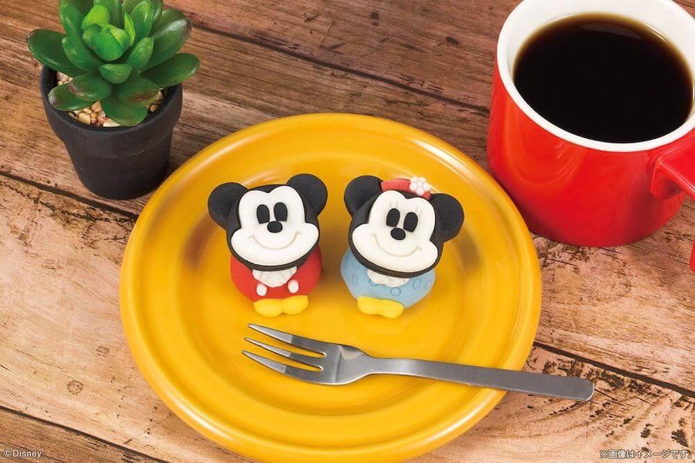 キャラクター和菓子の食べマス「ミッキーマウス&ミニーマウス」製品イメージ