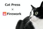 Cat Press×Fireworkのコラボ!猫と家で過ごそう!「#猫ちゃんとStayhome」動画キャンペーンを実施中