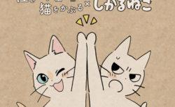 2作品の猫キャラがハイタッチ♪しかるねこが映画「泣き猫」の応援隊長に&コラボイラストも公開