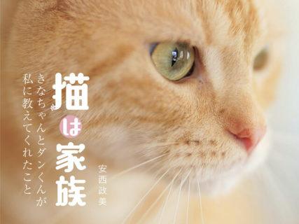 人と猫が一緒に幸せになれますように…猫愛あふれる写真にポエムを添えた写真集「猫は家族」