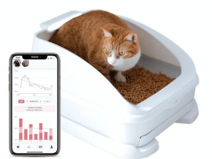 人工知能でネコの症状を自動判定してくれる!スマート猫トイレ「トレッタ」に新サービスが追加