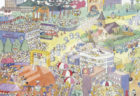 ランナーから観客まで猫まみれ!人気絵本「11ぴきのねこ マラソン大会」のジグソーパズルが登場