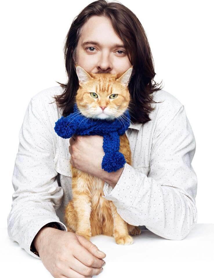 ジェームズ・ボウエンと愛猫のボブの写真(James Bowen & Streetcat Bob)