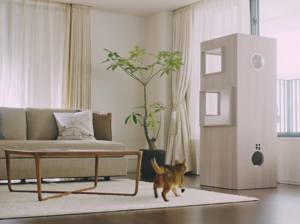 三菱地所レジデンスが制作した猫のタワーマンション「猫タワマン」