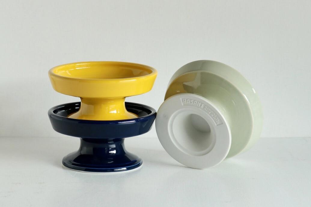 波佐見焼の陶磁器ブランド「HASAMI」が開発したペット用フードボウル by マルヒロ