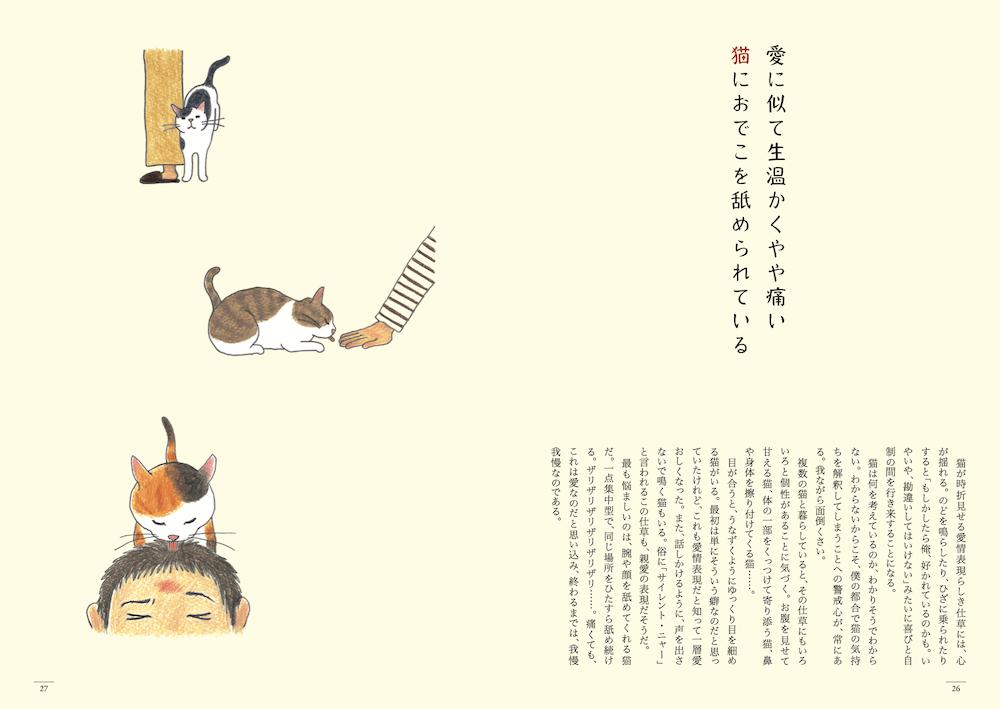 猫の短歌&エッセイ集「猫のいる家に帰りたい」26ページ by 仁尾智