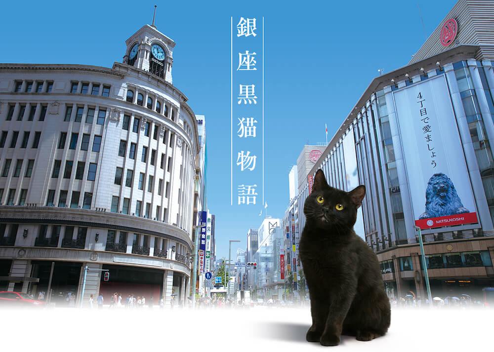 テレビドラマ『銀座黒猫物語』メインビジュアル