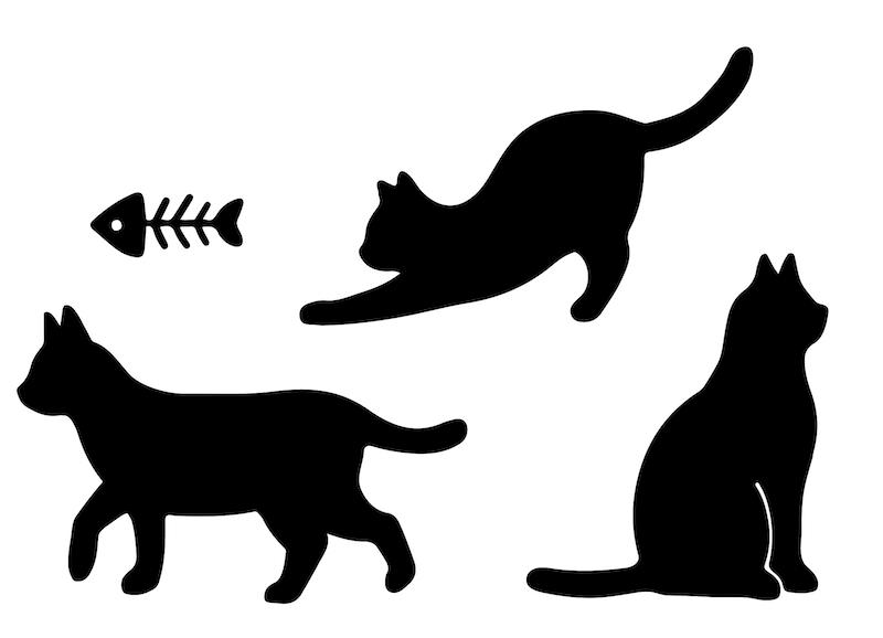 マスク専用デザインスタンプ「マスタ」、猫をモチーフにしたデザイン
