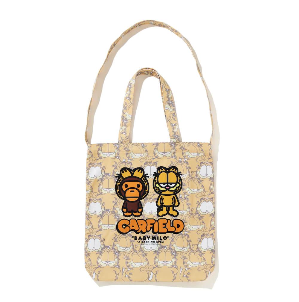 MILO(マイロ)×GARFIELD(ガーフィールド)のコラボトートバッグ