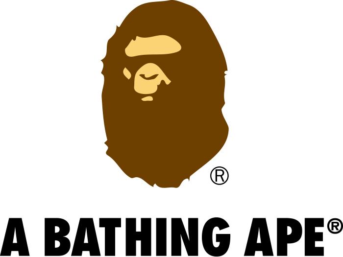 A BATHING APE(ア・ベイシング・エイプ)のブランドロゴ