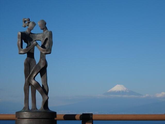 伊豆にある恋人岬のイメージ写真