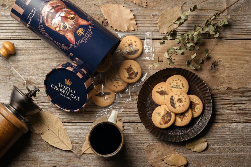 TOKYO CROWN CATの新商品「TORA'S cookies(トラズクッキー)」