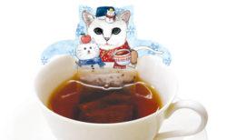 紅茶風呂に浸かっているように見える「ホワイトキャットカフェ(アップルティー)」
