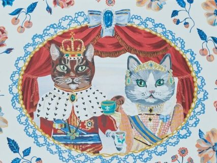 ねこの王様×女王様のパッケージがかわいいニャ♪アフタヌーンティーから秋限定の商品が登場