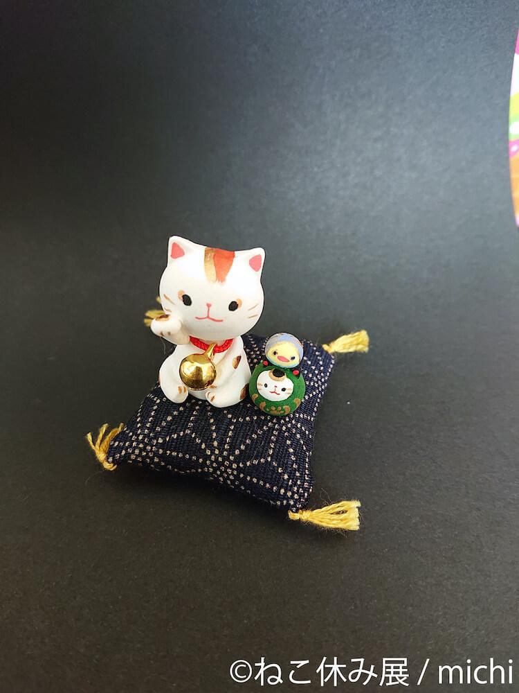 「ねこ休み展 夏 2020」で販売される猫グッズイメージ1