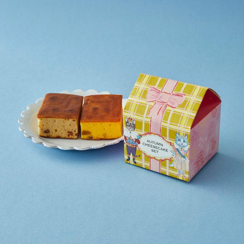 秋のチーズケーキセット by アフタヌーンティー・ティールーム