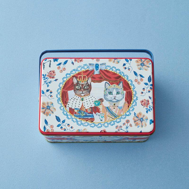 ナタリー・レテ(Nathalie Lete)による猫デザインの紅茶パッケージ by アフタヌーンティー・ティールーム