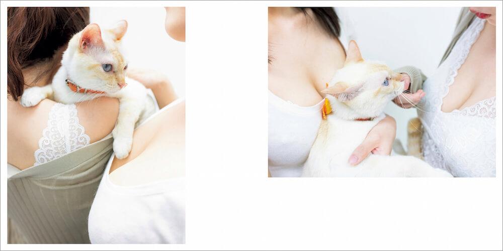 写真集「パイパイニャン」のサンプルイメージ5 by 青山裕企