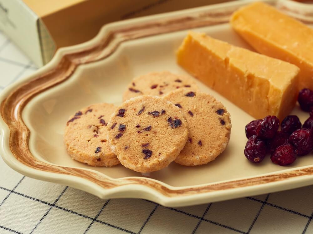 チェダー&クランベリー クッキー by neko chef(ネコシェフ)