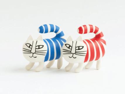 猫のマイキーがミニチュアサイズに♪リサ・ラーソンの作品を手軽に飾れるカプセルフィギュアが発売中