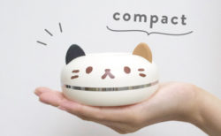 これは猫ドーナツ…ではなく猫型ポータブル加湿器!ペットボトルで給水&加湿できる「PePET(ペペット)」