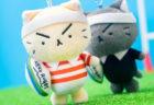 猫の人気ラグビー漫画「ラガーにゃん」第3巻が発売!ぬいぐるみとLINEスタンプの新作もあるニャ