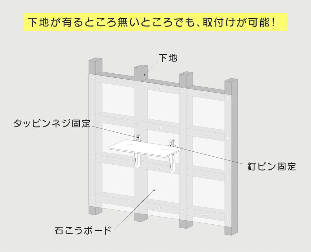 壁材に合わせて選べるキャットステップ by タカラ産業