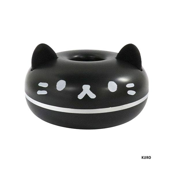 ペットボトルで給水できる猫型ポータブル加湿器「PePET(ペペット)」黒猫バージョン