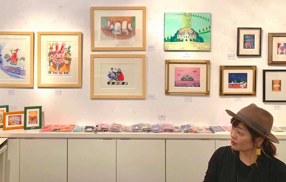 The 14th.moonの原画展開催イメージ