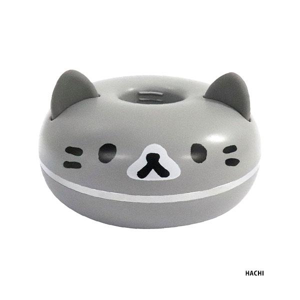 ペットボトルで給水できる猫型ポータブル加湿器「PePET(ペペット)」グレー猫バージョン