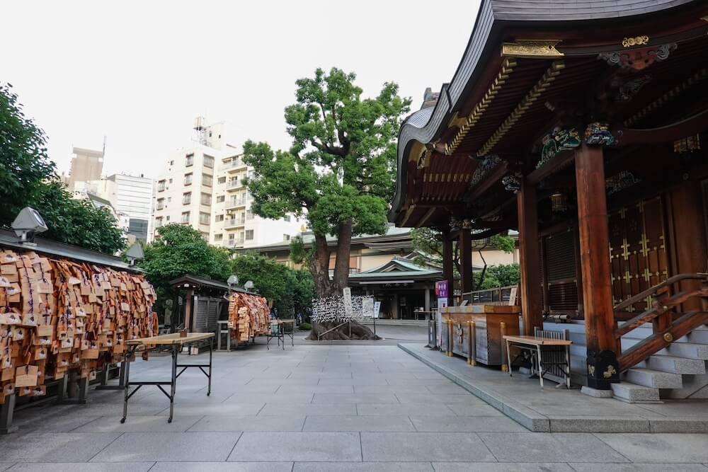 学問の神様・菅原道真を祀った湯島天満宮のイメージ写真