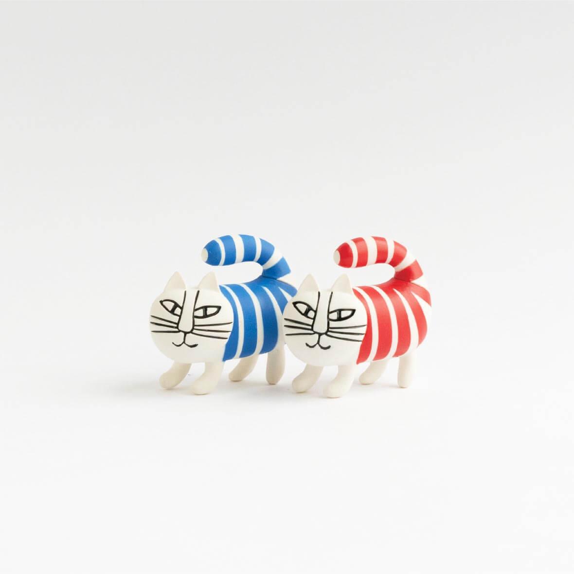 猫のマイキーのカプセルフィギュア by 海洋堂のフィギュア「ミニチュアファブリカ」