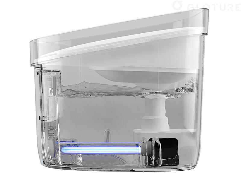 殺菌効果が高い波長253.7nmのUV-C除菌灯を搭載した給水器「Fresco Ultra(フレスコ ウルトラ)」