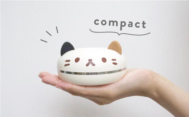 手のひらサイズの猫型ポータブル加湿器「PePET(ペペット)」