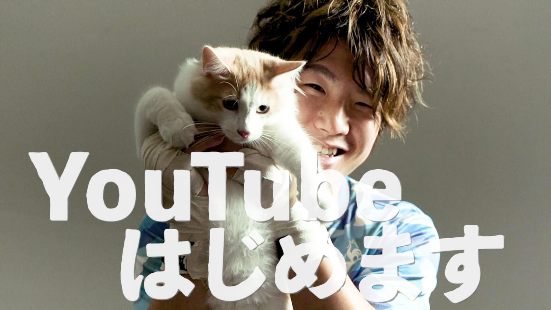 愛猫のノルウェージャンフォレストキャット・モフちゃんと動画配信する「寺地拳四朗 オフィシャルYouTubeチャンネル」