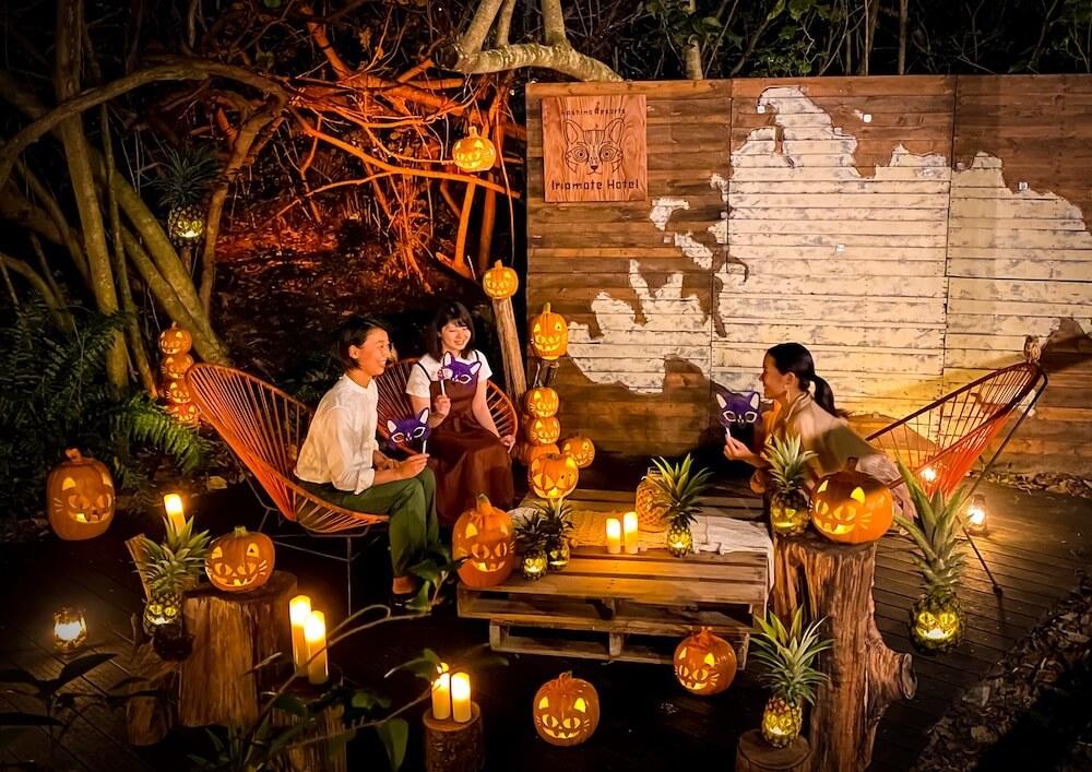 ヤマネコハロウィンの開催イメージ by 星野リゾート 西表島ホテル