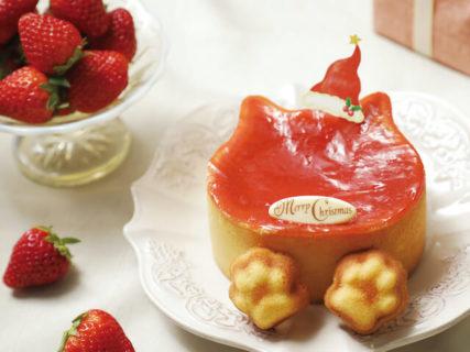 猫型のクリスマスケーキが3種類も一挙に登場!ねこねこチーズケーキのお店が予約をスタート