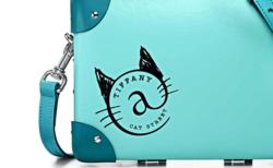 ティファニーから猫マークが可愛いミニケースが登場!中を開けると…さらに猫まみれニャ