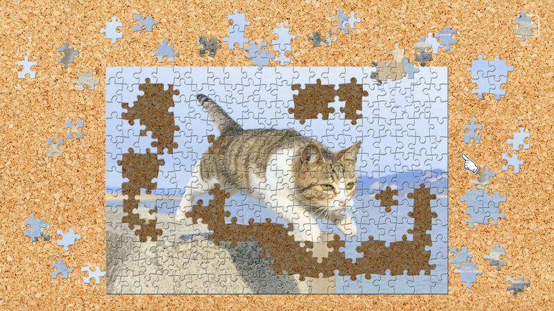 飛び猫 / 五十嵐健太のジグソーパズル、新作タイトルサンプル1