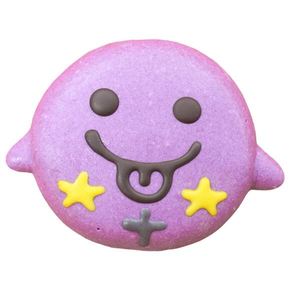 おばけをイメージしたドーナツ(紫いも味) by イクミママのどうぶつドーナツ!