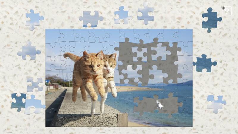 飛び猫 / 五十嵐健太のジグソーパズル、新作タイトルサンプル2