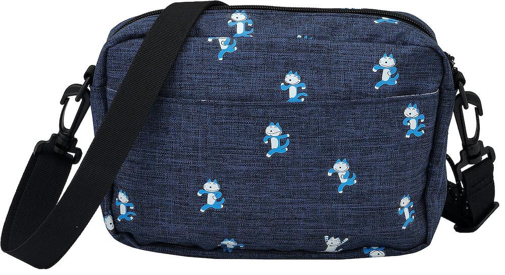 11ぴきのねこ×アウトドアプロダクツ コラボ ショルダーバッグ 背面イメージ