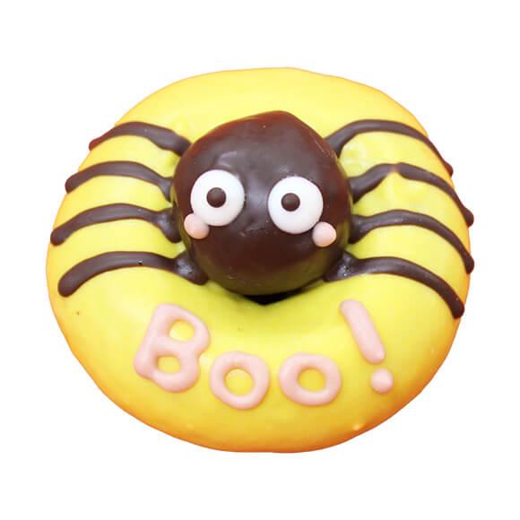 スパイダーをイメージしたドーナツ(スイート&かぼちゃチョコ味) by イクミママのどうぶつドーナツ!