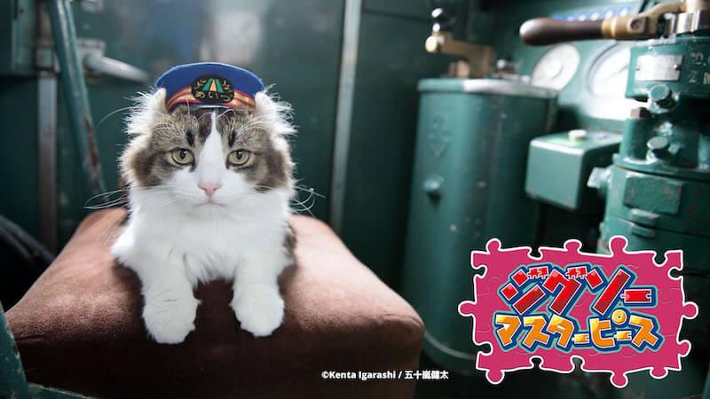 芦ノ牧温泉駅のねこ駅長 / 五十嵐健太のジグソーパズル