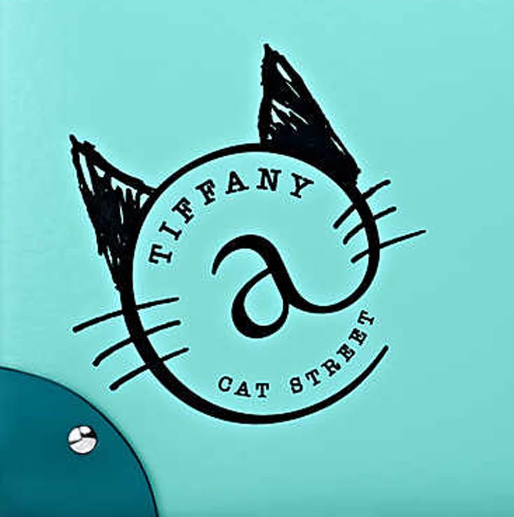 ティファニー@キャットストリートのロゴマークがデザイン