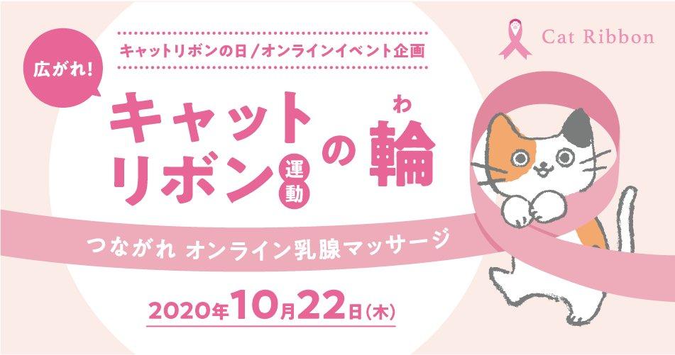 猫の乳がんチェック方法も学べる啓発イベント「キャットリボン運動の輪」メインビジュアル